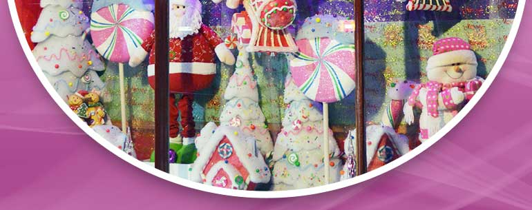 The Beechworth Sweet Company - Christmas Window Display